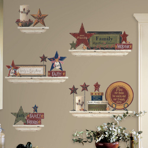 Family and Friends Peel and Stick Wall Decals