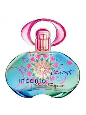 Salvatore Ferragamo Incanto Charms Eau De Toilette Spray for Women 3.4 oz