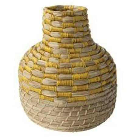 Ikea Decorative vase, seagrass 828.141720.2226