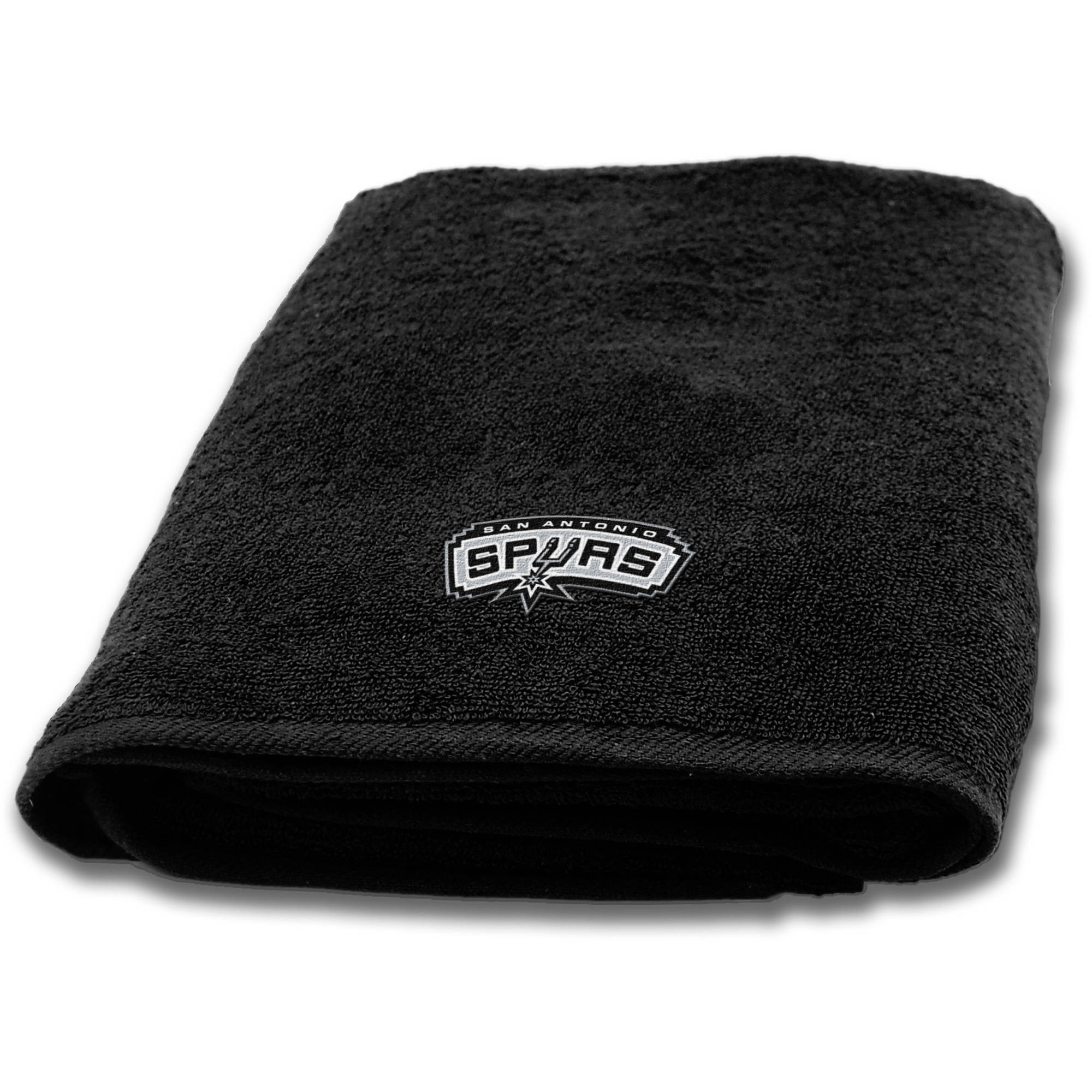 "NBA San Antonio Spurs Cotton 25""x50"" Applique Bath Towel, 1 Each"