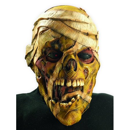 Mummy Vinyl Mask Iron Maiden Eddie Eddy Costume Metal Scary Gift Cosplay Band](Eddie Munster Mask)