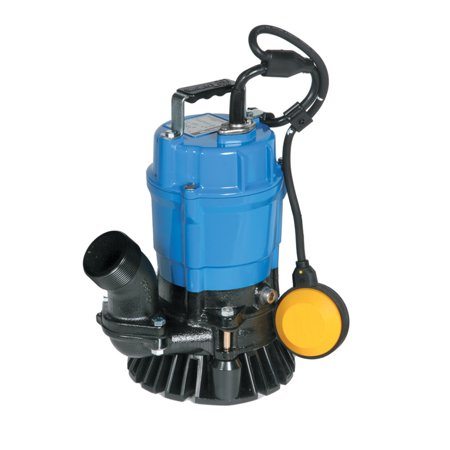 Tsurumi Hsz2 4S 1 2 Hp Semi Vortex Submersible Trash Pump With Agitator