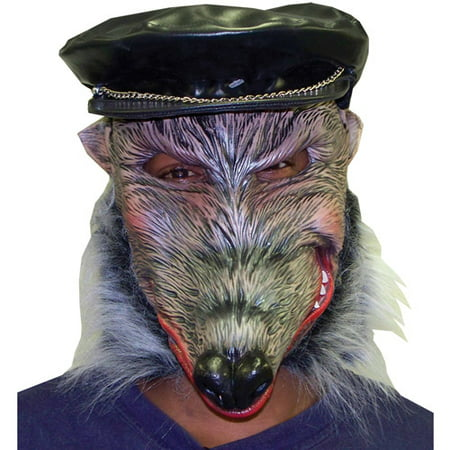 Dirty Rat Adult Halloween Latex Mask Accessory - Dirty Halloween Pic