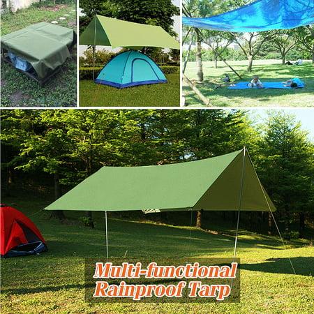 Rain Tarp Shelter Sun Sunshade Awning Canopy Beach Camping