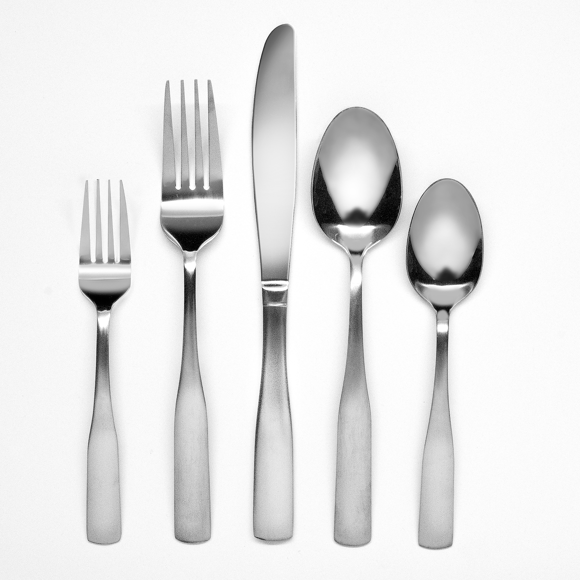 Hampton Forge Bristol Satin 20-Piece Flatware Set