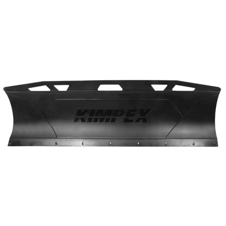 CLICK N GO CNG 2 Plastic Snow Plow for ATV & UTV Black 60''