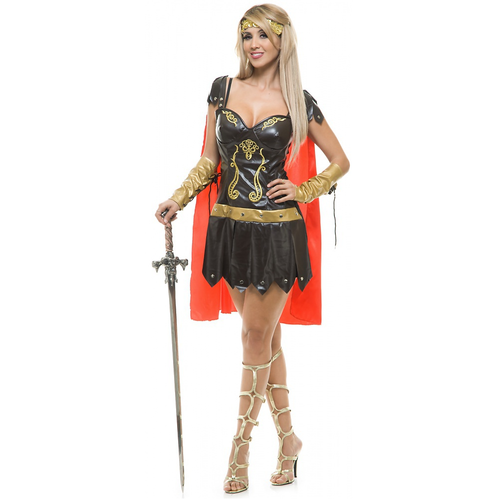 Warrior Queen Adult Costume - Large