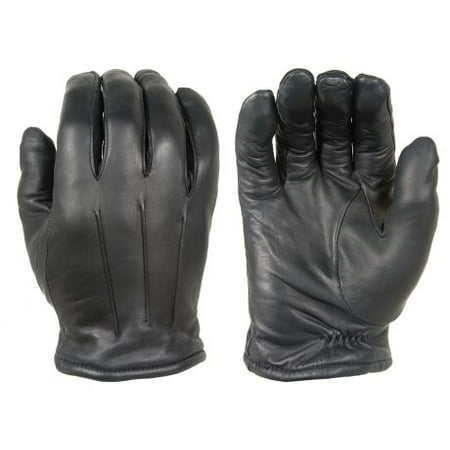 Dld40 Damascus Mens Black Thinsulate Lined Leather Dress Gloves
