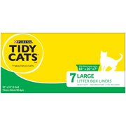 Purina Tidy Cats Large Litter Box Liners - 7 ct. Liners Pack of 6 Large Litter Box Liners (18x20x7) (6) 7 ct. Liners