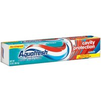 Aquafresh Cavity Protection Fluoride Toothpaste, Cool Mint, 3 ounce