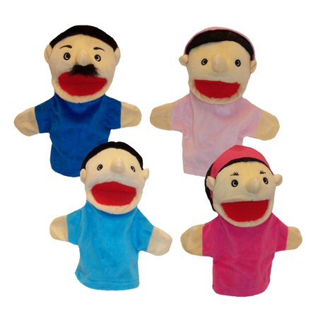 Hispanic Family Puppets (Brown Bag Puppets Halloween)