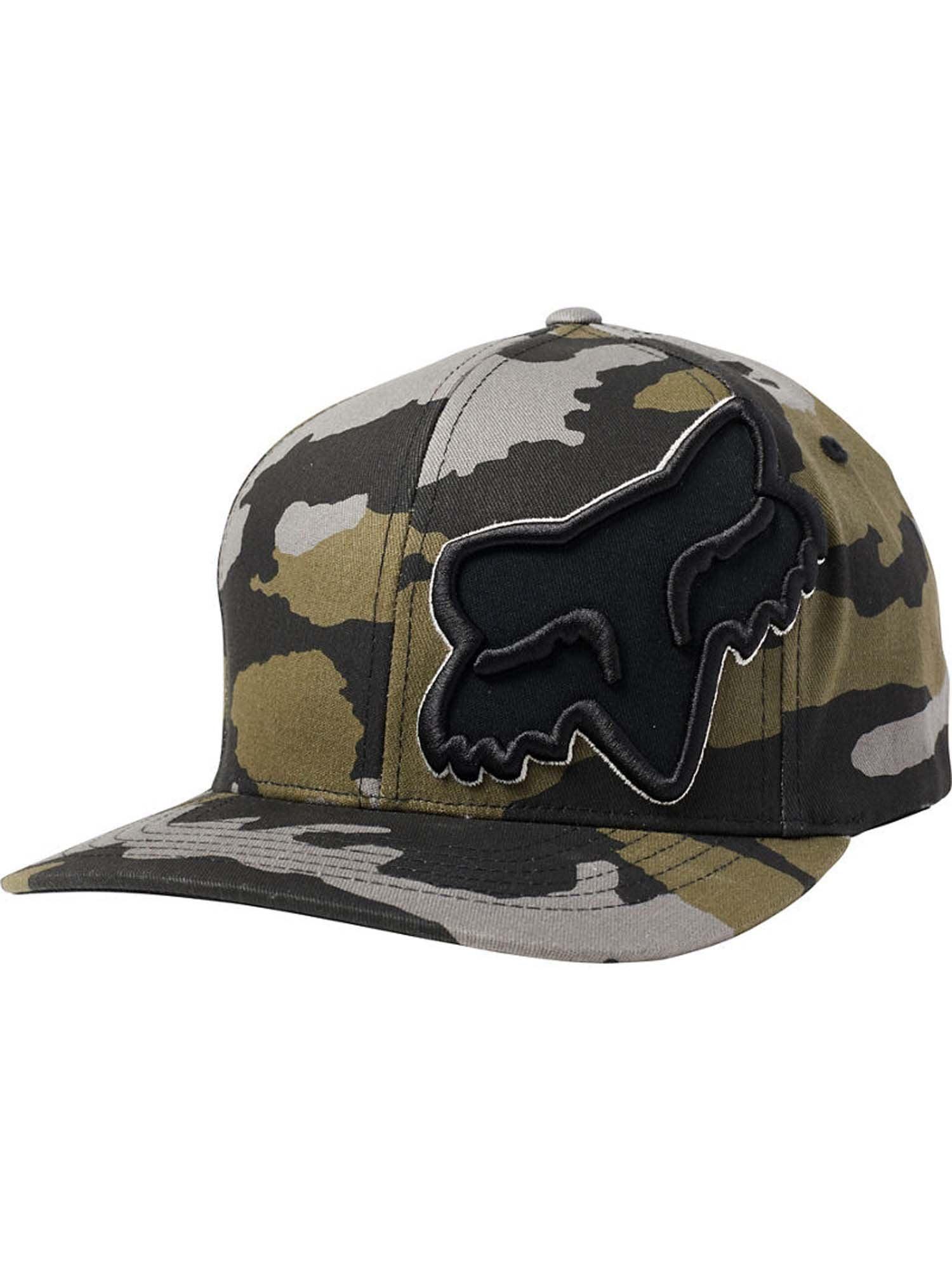 L//XL Maui Blue Fox Mens EPISCOPE Flexfit HAT