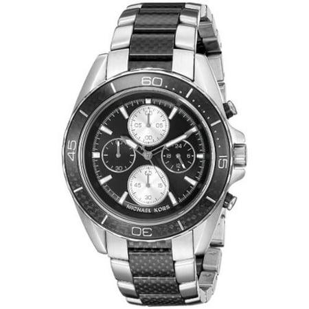 3b2725a8dda5 Michael Kors - Michael Kors Men s MK8454 JetMaster Chronograph Black ...
