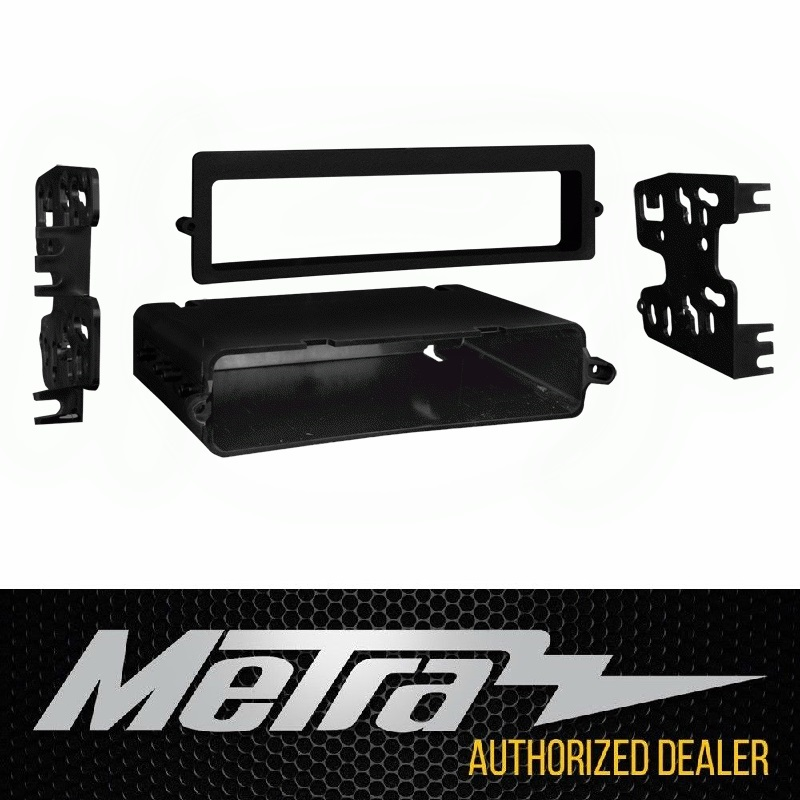 C4 CORVETTE SINGLE DIN / DOUBLE DIN ISO MOUNT KIT METRA 99-3051 FITS: ALL 90-96 CORVETTES