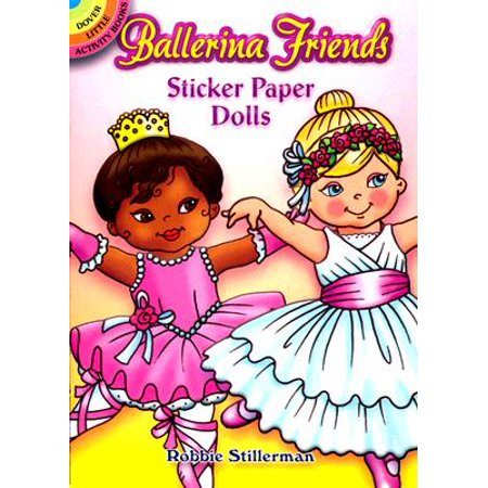 Ballerina Friends Sticker Paper Dolls
