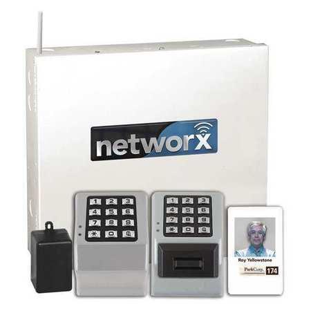 Alarm Lock Networxpanel Ethernet Gateway,Used W/Doors/Exittrim G1613669