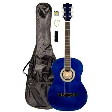 directly cheap student beginner acoustic guitar with carrying case and accessories 38 a pro. Black Bedroom Furniture Sets. Home Design Ideas