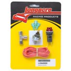 "Longacre Racing 40000 Gagelites Warning Light Kit - 20 psi Oil Pressure 1/8"" NPT"