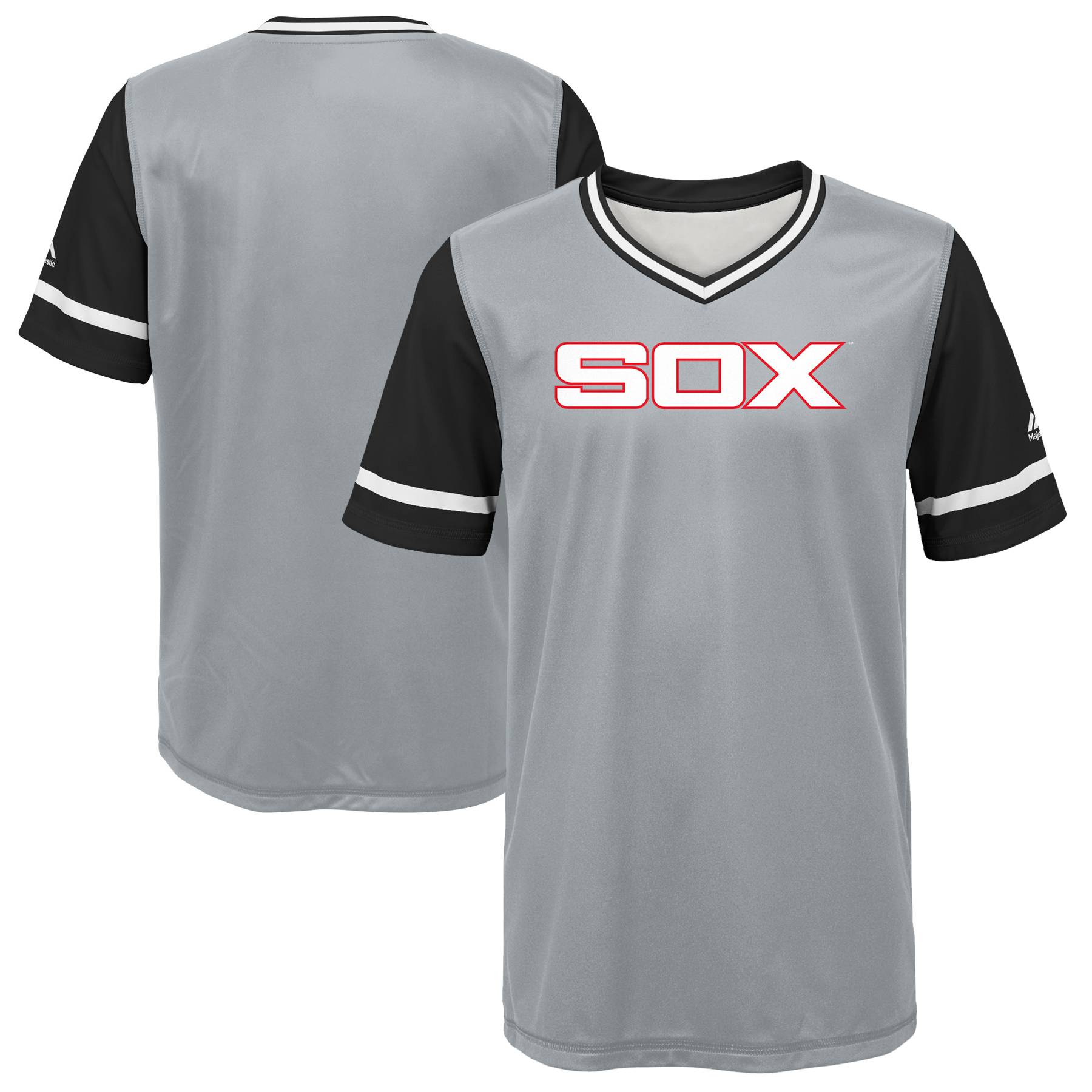 Chicago White Sox Majestic Youth 2018 Players' Weekend Team Jersey - Gray/Black