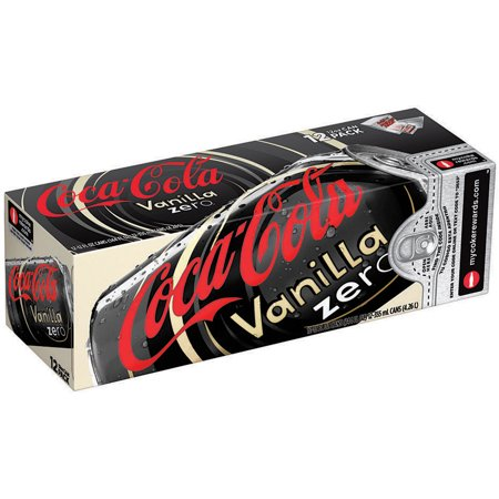 Coca-Cola Zero Vanilla Fridge Pack, 12 fl oz, 12 Pack