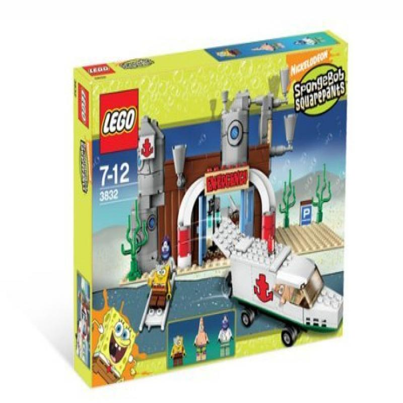 SpongeBob Squarepants Exclusive Limited Edition Lego Set #3832 Emergency Room by