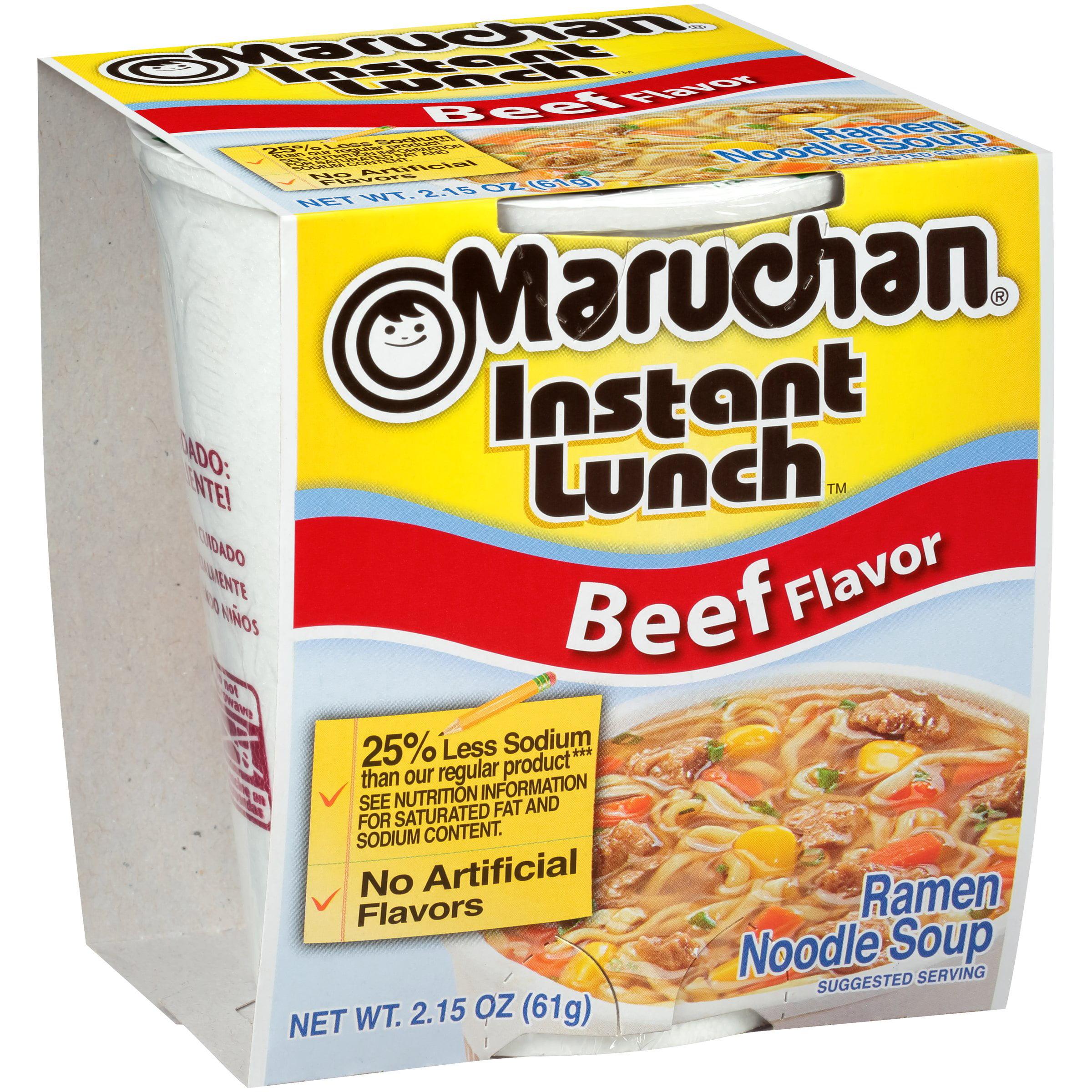 Maruchan® Instant Lunch™ Beef Flavor