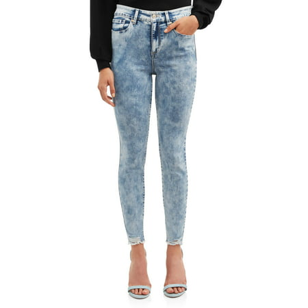 Sofia Jeans Rosa Hi Rise Curvy Ankle Acid Wash (Medium) 2 Handle Hi Rise