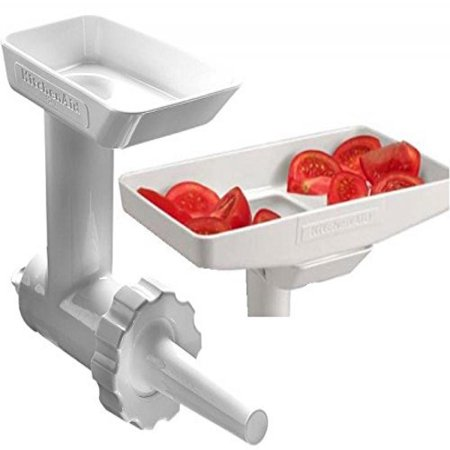 Kitchenaid Ksmgbc Food Meat Grinder Attachment With Sausage Stuffer Kit And Tray