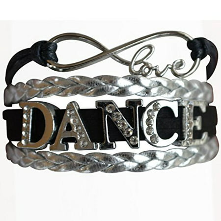 Dance Bracelet- Girls Dance Jewelry - Perfect Gift For Dance Recitals, Dancers and Dance Teams