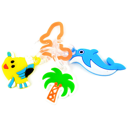 Loom Bands Charms, 3-Pack, Beach