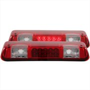 ANZO 531003 LED 3Rd Brake Light, Red And Clear
