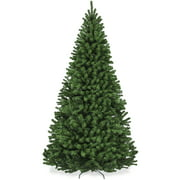 Best Choice Products 7.5ft Premium Spruce Artificial Christmas Tree w/ Easy Assembly, Metal Hinges & Foldable Base