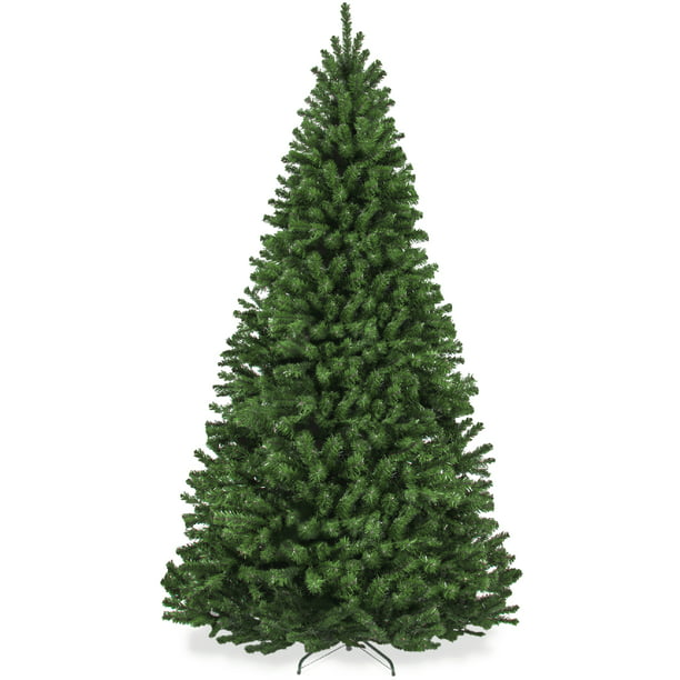 Best Choice Products 7 5ft Premium Spruce Artificial Christmas Tree W Easy Assembly Metal Hinges Foldable Base Walmart Com Walmart Com