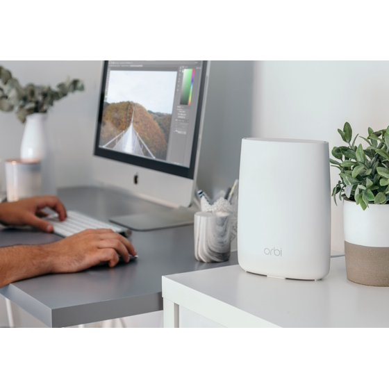 NETGEAR RBK50 Orbi Mesh WiFi System AC3000, Up to 5,000 Square Feet  (RBK50-100NAS)