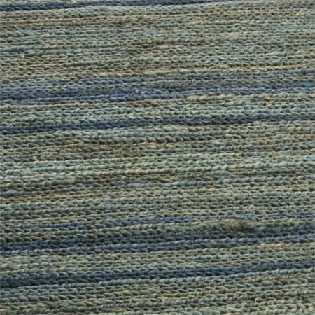 Safavieh Organica 6' Square Hand Knotted Jute Rug in Blue - image 3 of 3