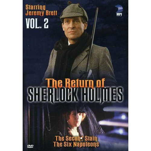 Return of Sherlock Holmes Vol. 2: Second Stain [DVD]