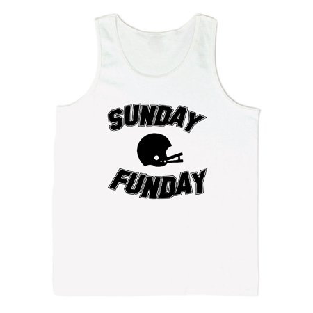 784349182bded Sunday Funday Sports Graphic Men s Tank Top - Walmart.com