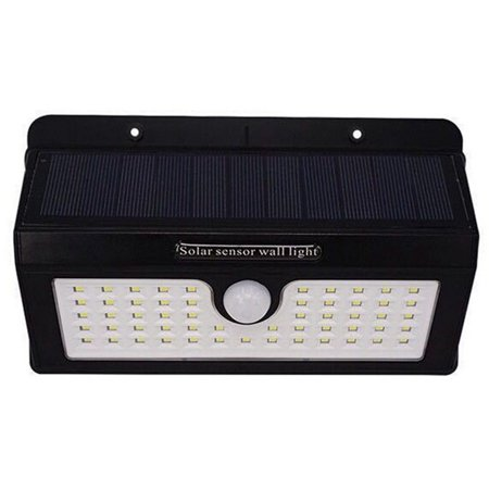 AIHOME Waterproof Outdoor Motion Activated Security Lighting 55 LED Bright Solar Powered Light for Patio, Deck, Yard, Garden - image 6 of 9