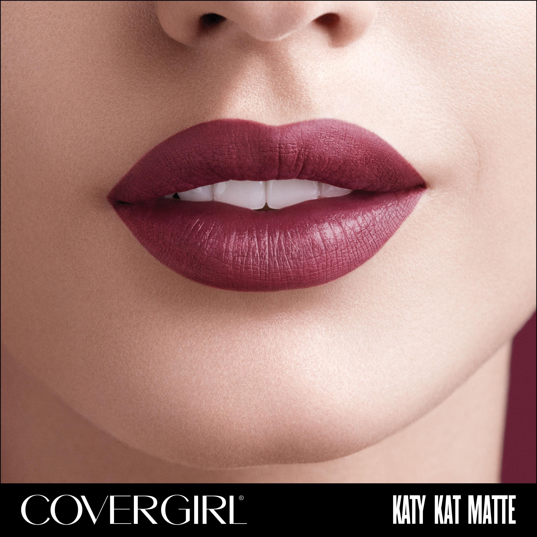 Covergirl Colorlicious Katy Kat Matte Lipstick Tame Tiger Walmart Com Walmart Com