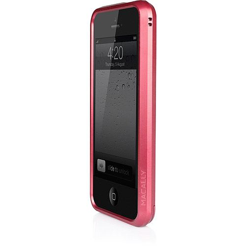 Macally Aluminum Frame Case for iPhone 5, Assorted Colors