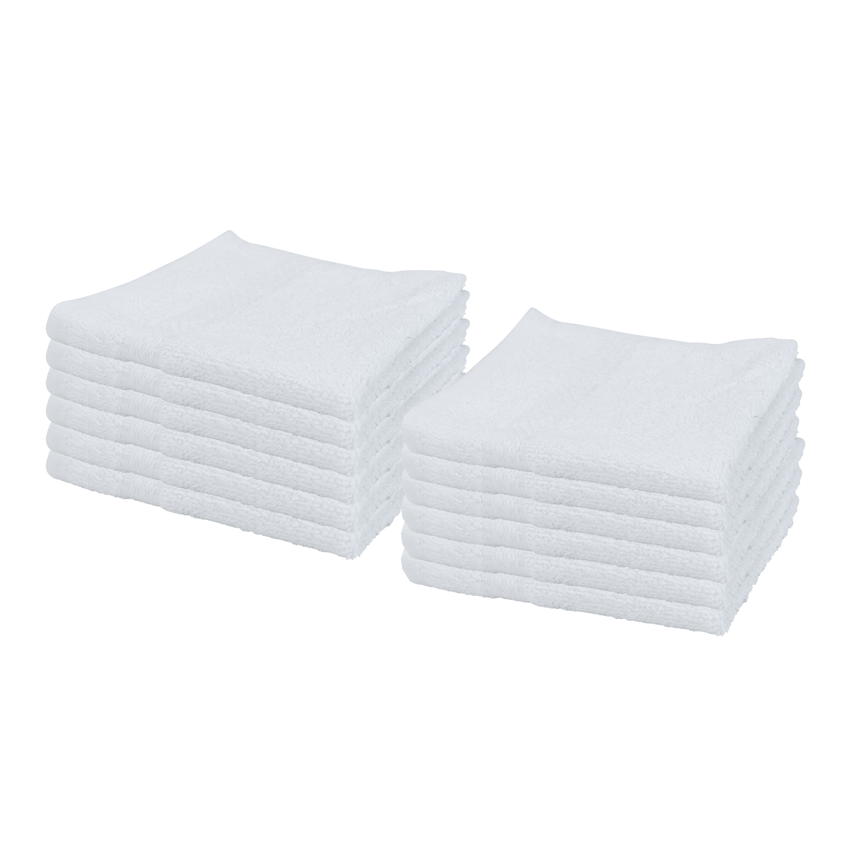 Izo Home Goods Cotton Small Bath Hand Gym Spa Towels 12-Pack Highly Absorbent