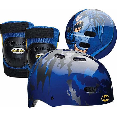 Batman Dark Knight Child S Multi Sport Helmet Knee Pad And Elbow