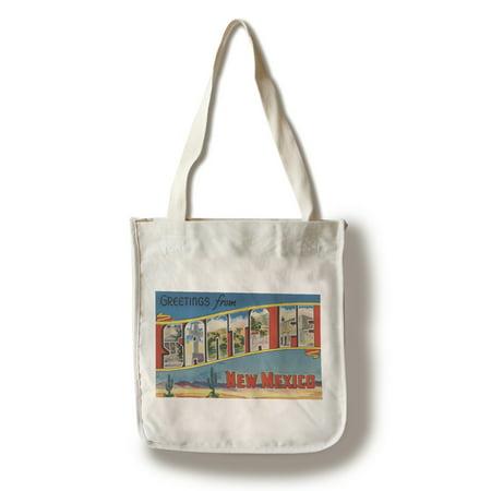 Santa Fe Bag (Greetings from Santa Fe, New Mexico (100% Cotton Tote Bag -)