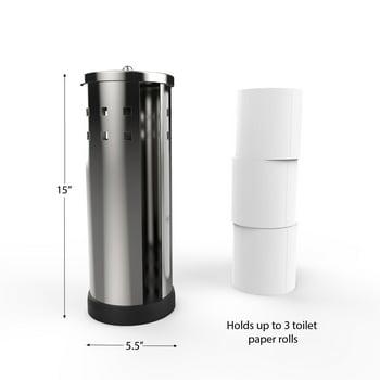 Lavish Home Somerset Home Stainless Steel Toilet Paper Holder