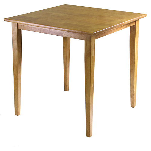 Groveland Square Dining Table, Light Oak