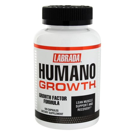 Labrada - Humano Growth Factor Formula - 120 Capsules Growth Factor Plus