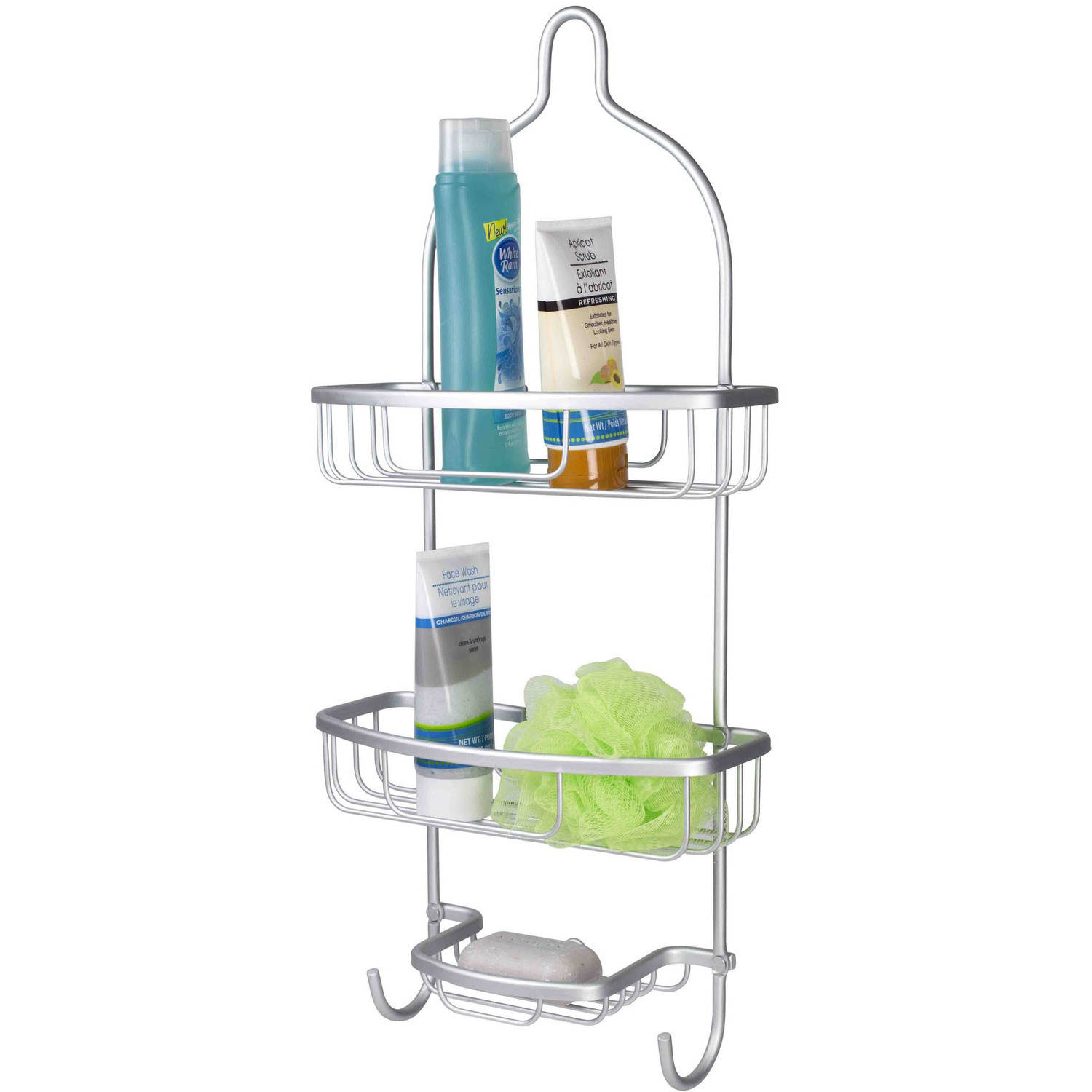 Home Basics Aluminum Shower Caddy by Generic