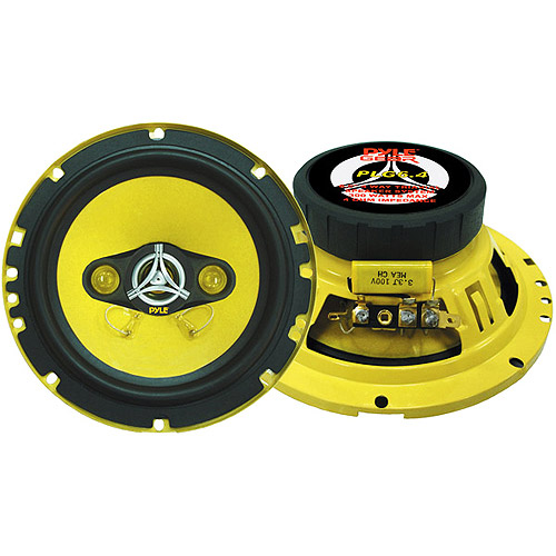 PYLE PLG6.4 - 6.5'' 300 Watt Four-Way Speakers