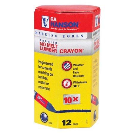 Lumber Crayon Holder - CRAYON LUMBER BLUE