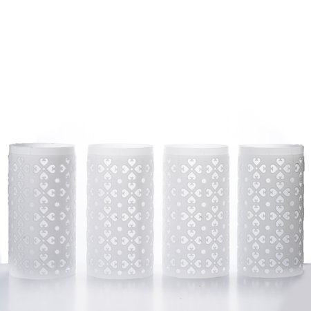 Efavormart 4PCS Venetian Roman PVC Wedding Columns EXTENSION Parts - Plastic Roman Columns For Sale